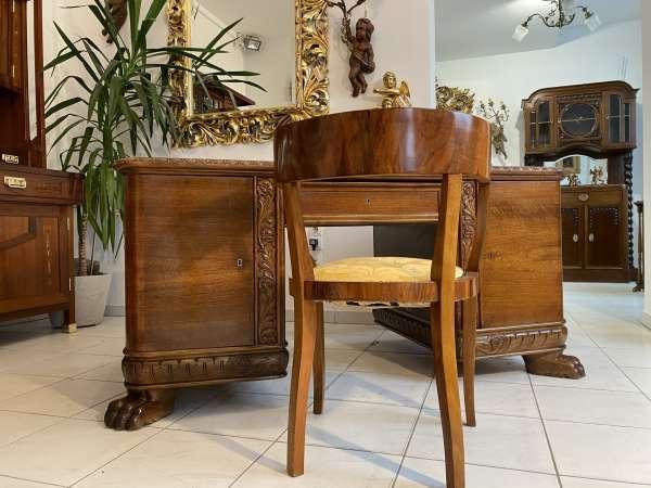 Neo Rennaissance Schreibtisch Sekretär Gründerzeit Schreibmöbel E2175