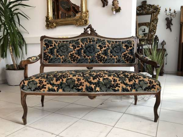 Pfeiferlbarock Sofa Diwan Couch Chaiselongue Liege Z1759