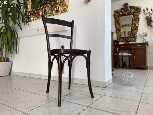 originaler Sessel Stuhl Jugendstil Thonet Bugholzmöbel A2241