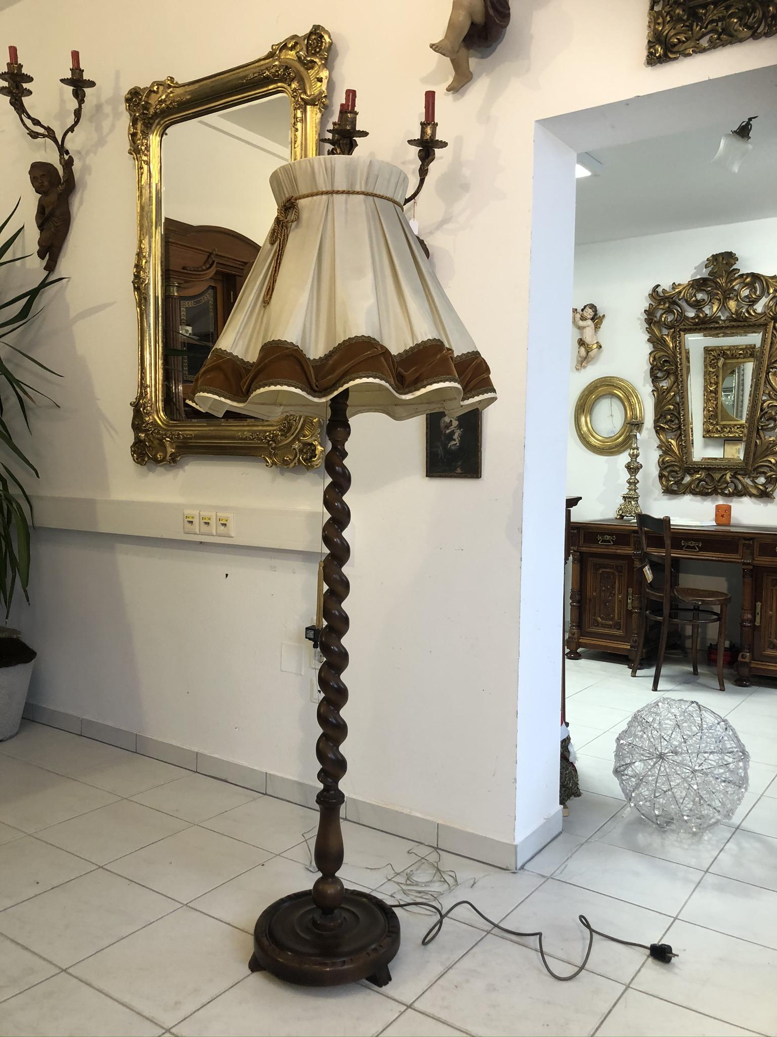 Stehlampe Antik Willhaben