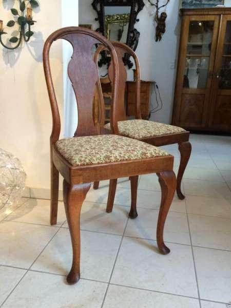 Art Deco Stuhl Schreibtsich Sessel Rundbogenstuhl Nr. 8867