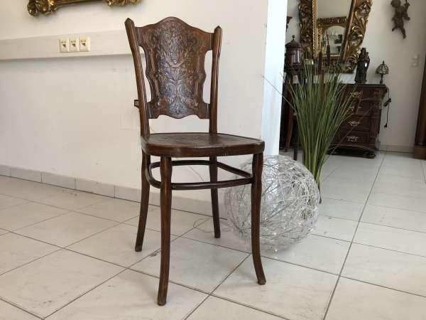 originaler Stuhl Sessel Bugholzsessel Holzsessel Kohn Z1747