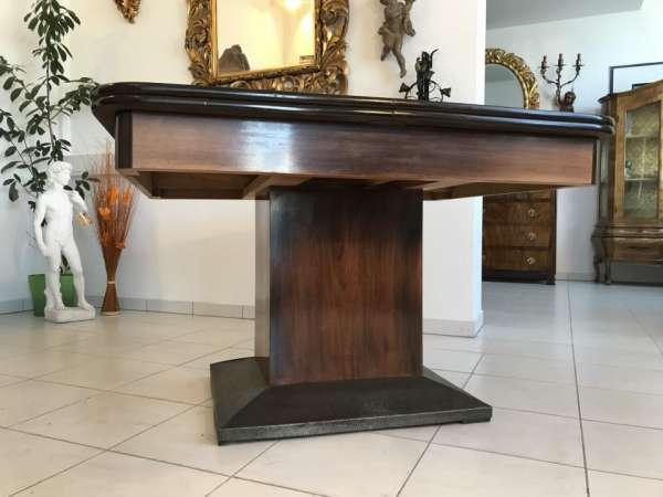 Jugendstil Tisch Esstisch Speisezimmertisch Auszugtisch W3222