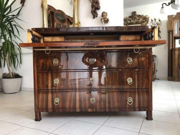 Biedermeier Schreibkommode Ladenkommode Original restauriert Z1902