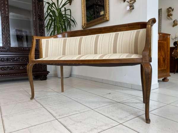 Jugendstil Sofa Diwan Couch Sitzsofa Liege A2468