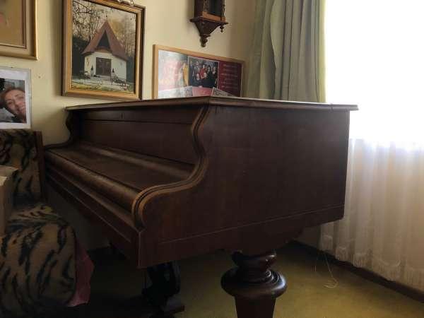 FLÜGEL GRAND PIANO KONZERTFLÜGEL KLAVIER braun Ru1001