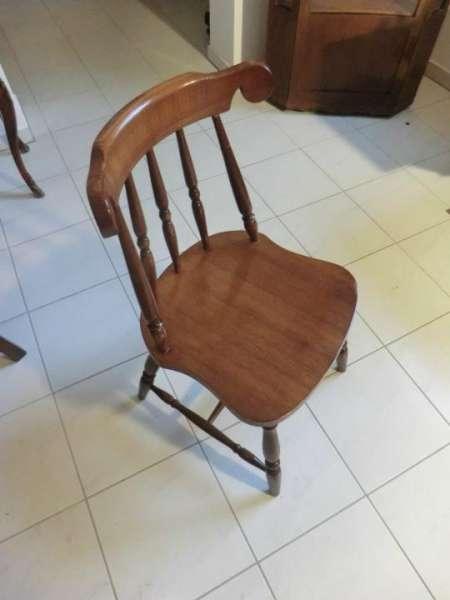 massiver Bauernsessel Sessel Stuhl Landhaussessel Stühle Buche Nr 5342