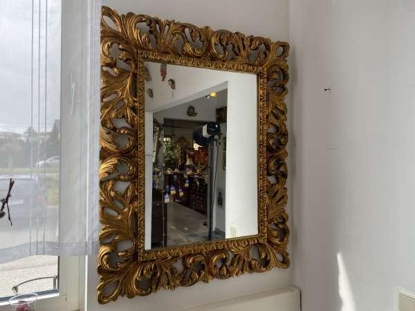 originaler Florentiner Spiegel Akanthusblattformen Barockstil A2361