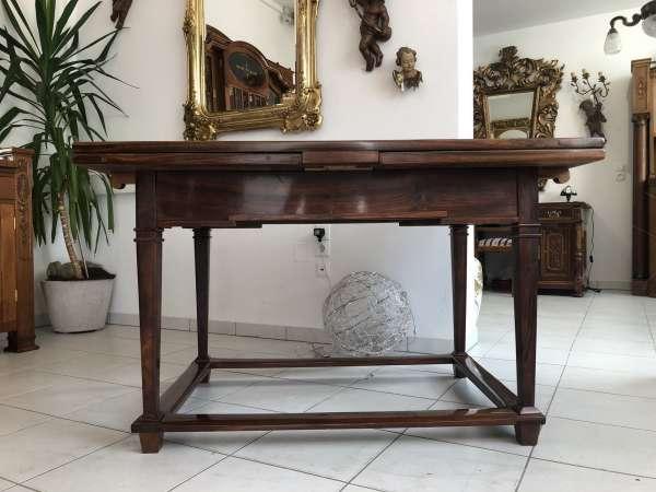 originaler Auszugtisch Josefinischer Tisch Klassizismus Z1899