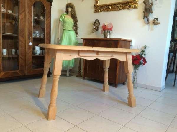 ländlicher Tisch Beistelltisch Bauerntisch Fichte Bauernmöbel 7362