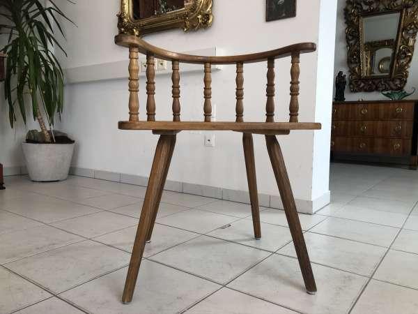 Bauernsessel Sessel Stuhl Armlehnstuhl Eichenholz E1333