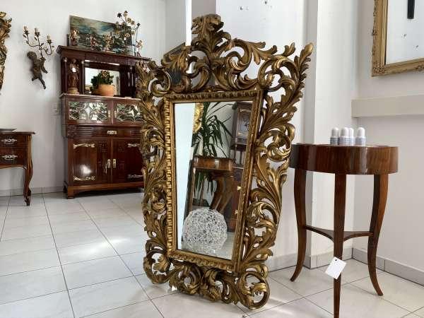 originaler vergoldeter Florentiner Spiegel Florentiner Traumstück E1866