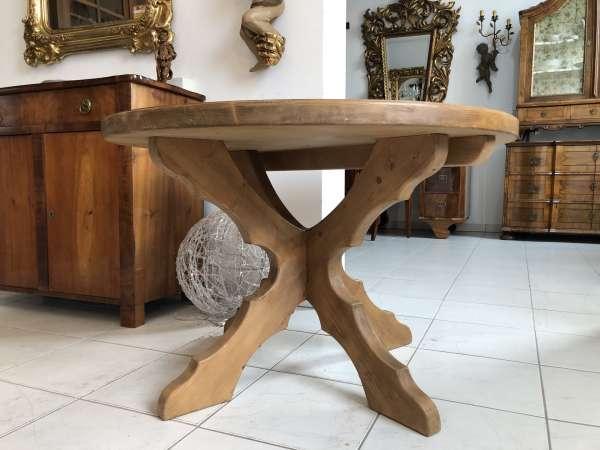 uriger alter Bauertisch Tisch Landhaustisch X2365
