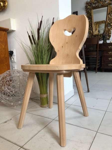 Bauernsessel Sessel Stuhl Landhaussessel Fichtenholz Z1622