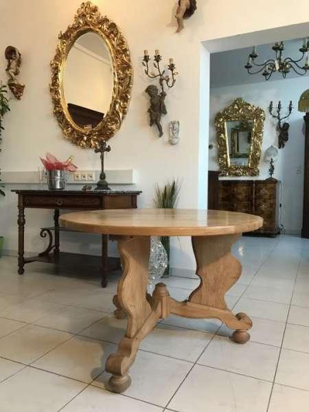 alter uriger Bauerntisch Küchentisch Landhaustisch Tisch Naturholztisch - W1587