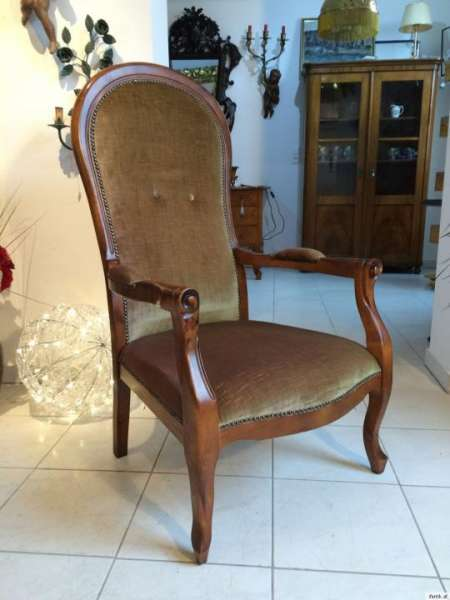 Fauteuil Barockstil Stil Armlehnstuhl Sessel 1 Stück - Nr. 8841