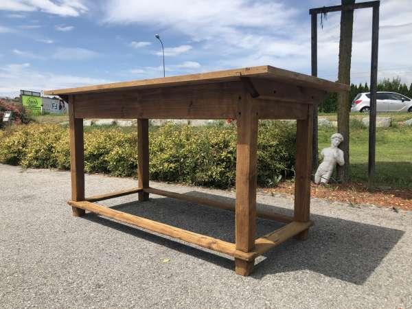 alter uriger Bauerntisch Tisch Landhaustisch Naturholz Z1798