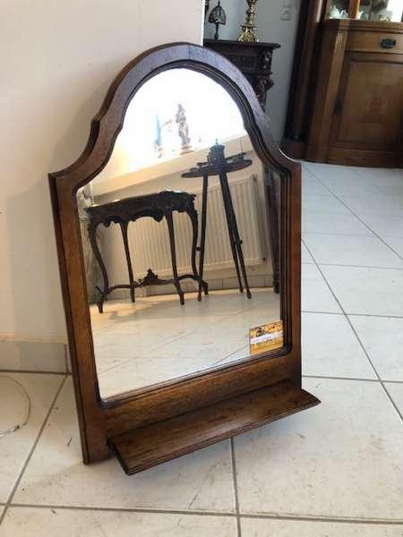 hübscher Spiegel Holzspiegel Wandspiegel Dekospiegel Z1133