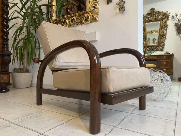Traum Art Deco Fauteuil Armchair von Jindrich Halabala A2173