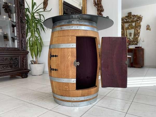 Hausbar Barrique Fass aus Eiche - Weinfass Thresen Bar A2611