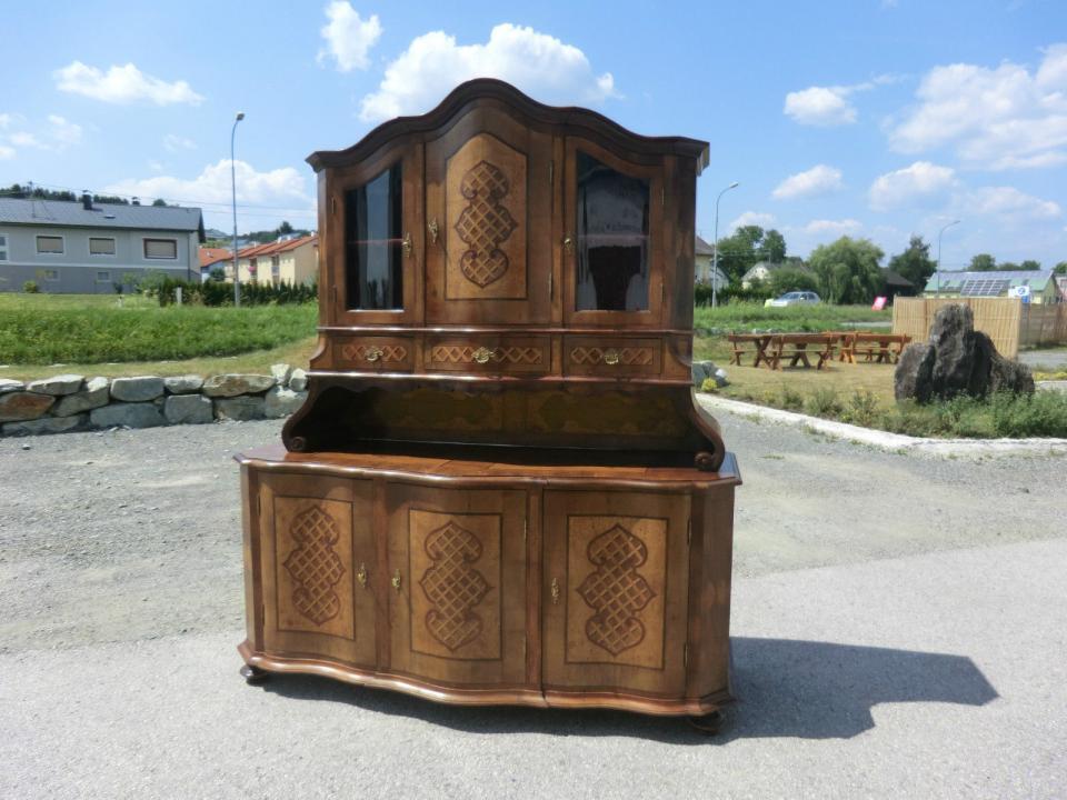 barockm bel aufsatzschrank aufsatzbuffet kredenz nr 5628. Black Bedroom Furniture Sets. Home Design Ideas