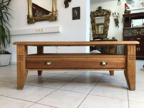 hübscher Couchtisch Tisch Glastisch Landhausmöbel Z2322