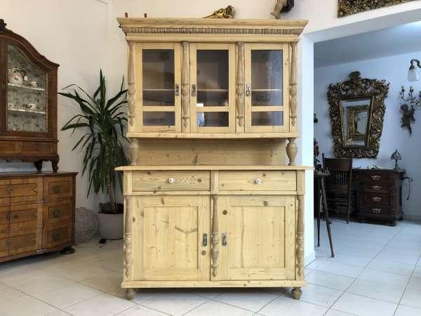 restaurierte Gründerzeit Küchenkredenz Küchenschrank Z1360