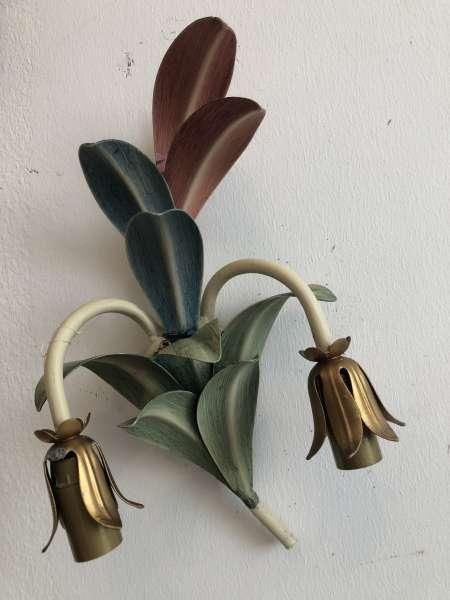 venezianischer Wandleuchter floraler Seitenleuchte Ährenform Z1687