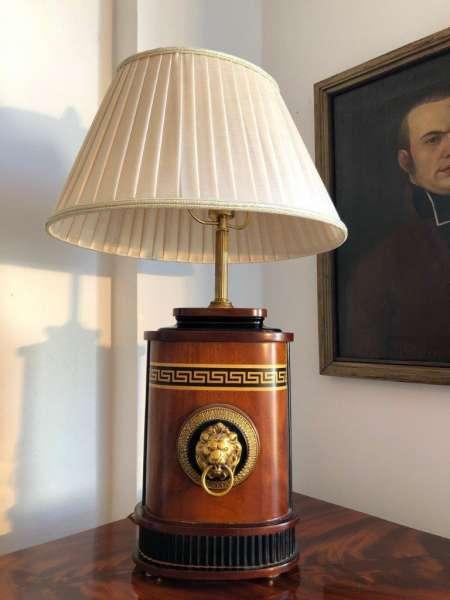 Empire Stil Tischlampe einfalmmig prunkvoll hübsch Z1181