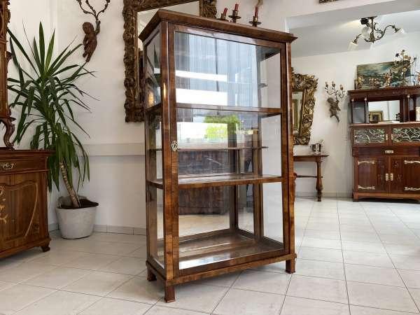 restaurierte Biedermeier Vitrine Glasschrank Traumexemplar E1478