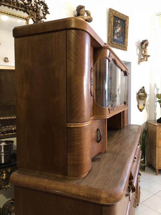 Art Deco Bauhaus Sammlerschrank Vitrine Küchenschrank X1766 | eBay